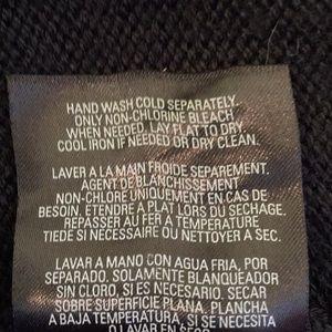Tahari Sweaters - Tahari long black cowl neck sweater